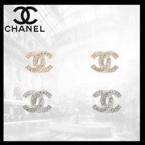 CHANEL Casual Style Unisex Party Style Silver Office Style
