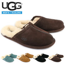 UGG Australia SCUFF Fur Plain Shoes