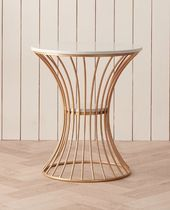 LOJECASA Gold Furniture Dining Tables Table & Chair