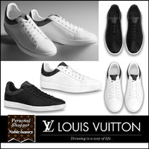 Louis Vuitton Monogram Street Style Plain Leather Logo Sneakers