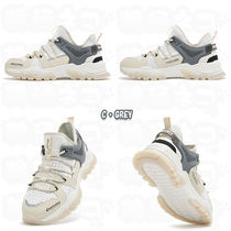 Discovery EXPEDITION Casual Style Unisex Street Style Logo Low-Top Sneakers