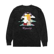 RIPNDIP More T-Shirts Crew Neck Pullovers Unisex Street Style Long Sleeves Plain 4