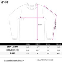 RIPNDIP More T-Shirts Crew Neck Pullovers Unisex Street Style Long Sleeves Plain 5