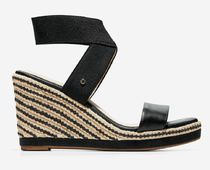 Cole Haan Open Toe Casual Style Plain Other Animal Patterns