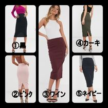 ASOS Pencil Skirts Casual Style Plain Medium Long Party Style