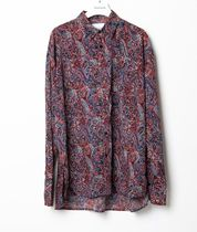 Raucohouse Shirts Paisley Unisex Street Style Collaboration Long Sleeves 9