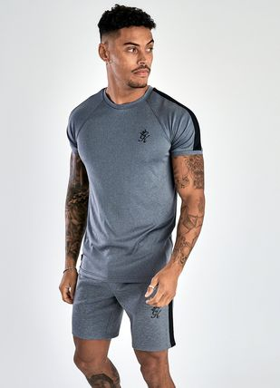 Crew Neck Short Sleeves Workout Crew Neck T-Shirts
