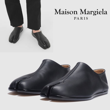 Maison Margiela Unisex Street Style Plain Leather Oxfords