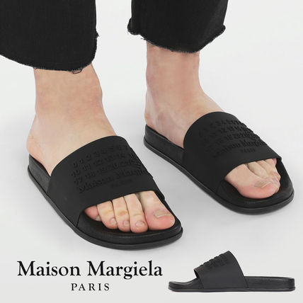 Maison Margiela Unisex Blended Fabrics Leather Street Style Sandals