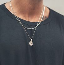 Chained & Able Unisex Street Style Chain Logo Necklaces & Chokers