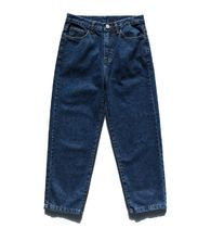 FP142 More Jeans Unisex Street Style Cotton Oversized Jeans 6