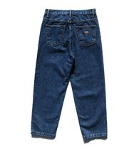 FP142 More Jeans Unisex Street Style Cotton Oversized Jeans 7