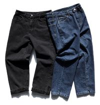 FP142 More Jeans Unisex Street Style Cotton Oversized Jeans 9