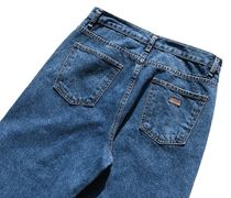 FP142 More Jeans Unisex Street Style Cotton Oversized Jeans 12