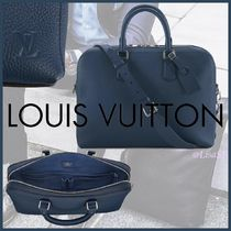 Louis Vuitton TAURILLON Blended Fabrics A4 3WAY Plain Leather Business & Briefcases