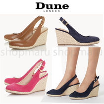 Dune LONDON Round Toe Casual Style Suede Plain Party Style Elegant Style