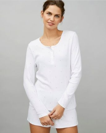 Dots Plain Lace Logo Loungewear Lounge & Sleepwear