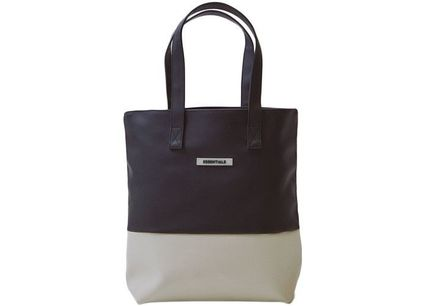 FEAR OF GOD ESSENTIALS Unisex Street Style Totes