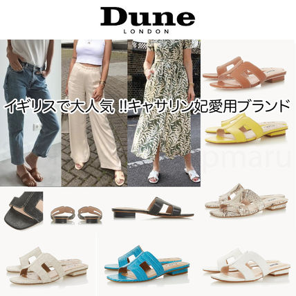 Formal Style  Open Toe Casual Style Plain Leather