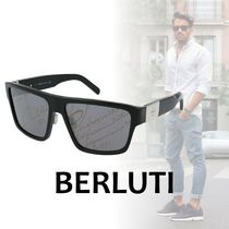 Berluti Square Sunglasses