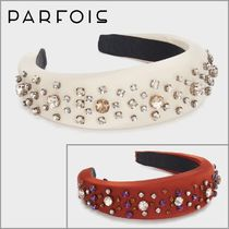 PARFOIS Casual Style With Jewels Elegant Style Headbands