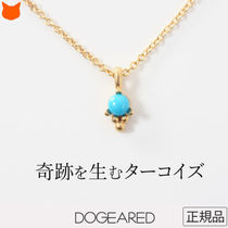 Dogeared Casual Style Silver Office Style 14K Gold Elegant Style
