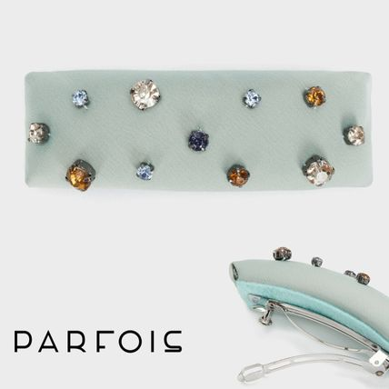 PARFOIS Barettes Casual Style With Jewels Elegant Style Clips