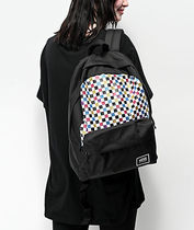 VANS Other Plaid Patterns Casual Style Unisex Canvas Street Style