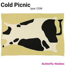 COLD PICNIC Unisex Art Patterns Throws