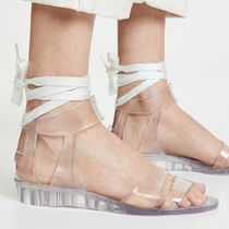 See by Chloe Open Toe Platform Rubber Sole Lace-up Casual Style
