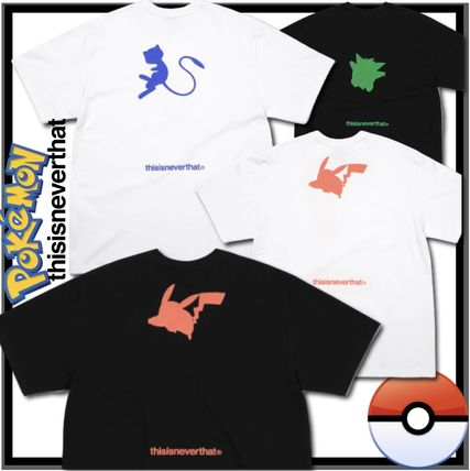 thisisneverthat More T-Shirts Unisex Street Style Collaboration Short Sleeves T-Shirts