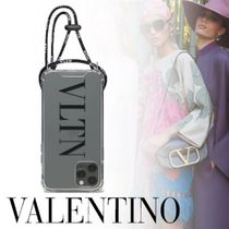 VALENTINO VLTN Plain Logo iPhone 11 Pro Smart Phone Cases