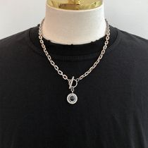 ASCLO Unisex Street Style Stainless Necklaces & Chokers