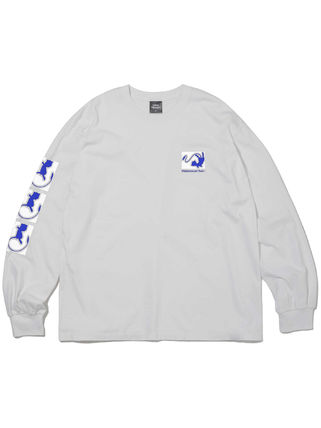 thisisneverthat Long Sleeve Unisex Street Style Collaboration Long Sleeves Cotton 4