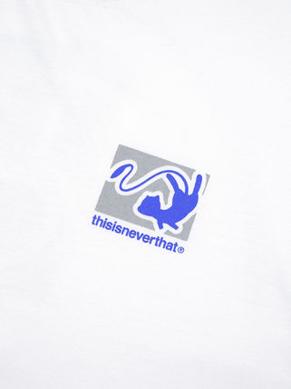 thisisneverthat Long Sleeve Unisex Street Style Collaboration Long Sleeves Cotton 6