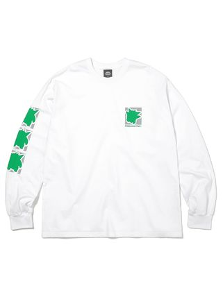 thisisneverthat Long Sleeve Unisex Street Style Collaboration Long Sleeves Cotton 9