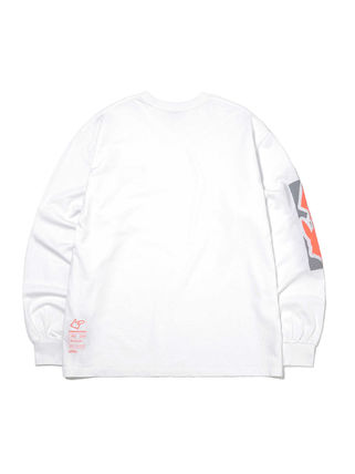 thisisneverthat Long Sleeve Unisex Street Style Collaboration Long Sleeves Cotton 16