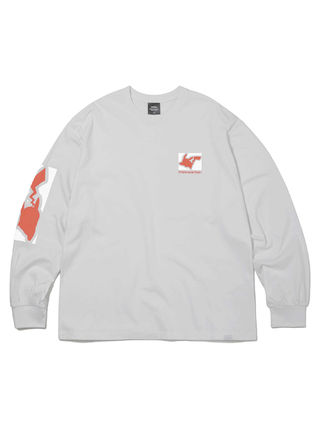 thisisneverthat Long Sleeve Unisex Street Style Collaboration Long Sleeves Cotton 17