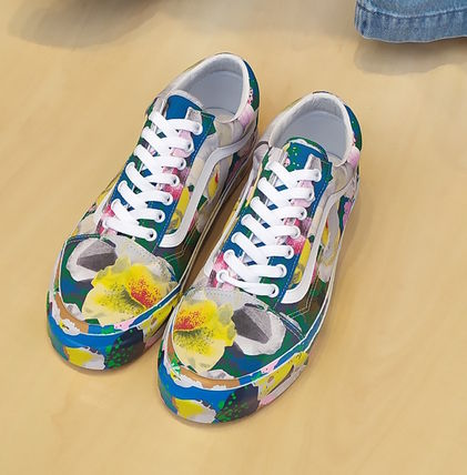 Flower Patterns Street Style Sneakers