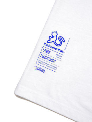 thisisneverthat More T-Shirts Unisex Street Style Collaboration Cotton Short Sleeves Logo 6