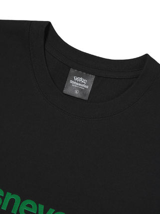 thisisneverthat More T-Shirts Unisex Street Style Collaboration Cotton Short Sleeves Logo 10
