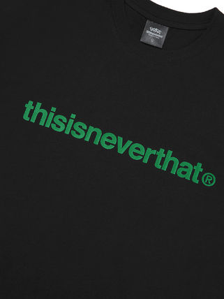 thisisneverthat More T-Shirts Unisex Street Style Collaboration Cotton Short Sleeves Logo 11