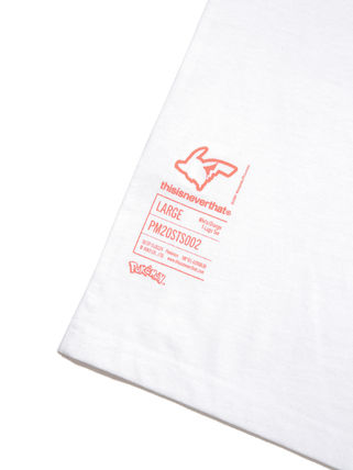 thisisneverthat More T-Shirts Unisex Street Style Collaboration Cotton Short Sleeves Logo 20