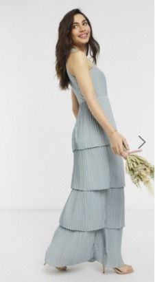 Sleeveless Plain Long Party Style High-Neck Elegant Style