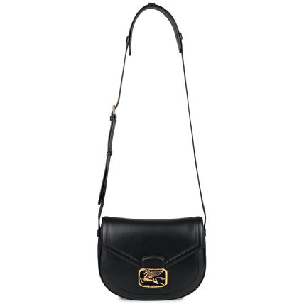 Casual Style Calfskin Plain Leather Party Style