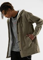 AFENDS Street Style Military Parkas