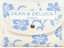 DEAN&DELUCA Tropical Patterns Canvas Logo Totes