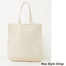 The Beach People Casual Style Plain Totes