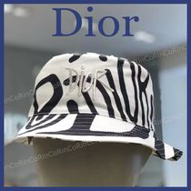 Christian Dior Street Style Wide-brimmed Hats