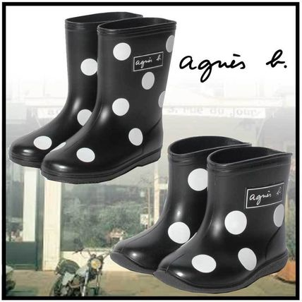 Agnes b Kids Girl Rain Shoes